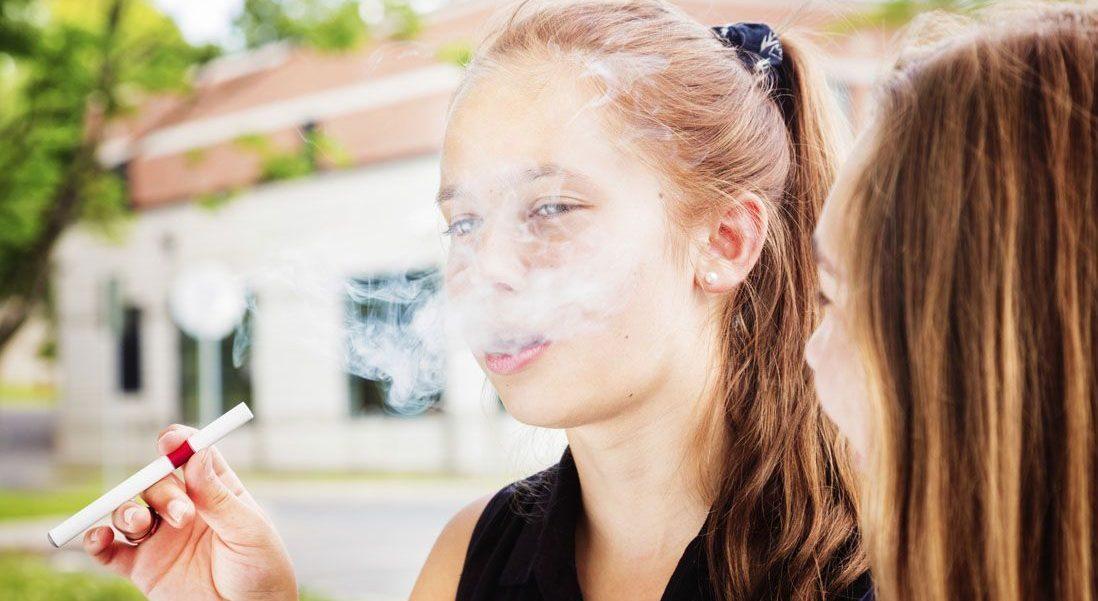 cigarette électronique interdite aux mineurs image