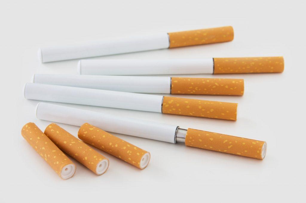 Test cigarette électronique lutte